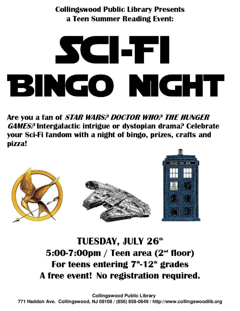 SCI-FI BINGO NIGHT flyer-page-001
