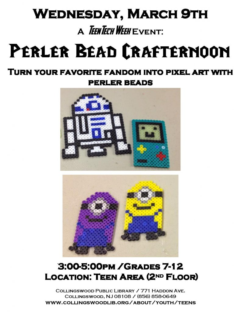 Perler Bead crafternoon flyer-page-001
