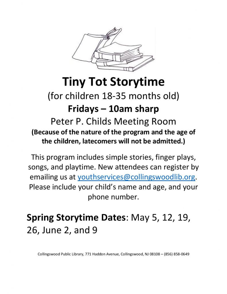 Tiny Tot Storytime Spring 2017-page-001